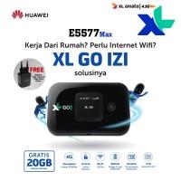 New XL Go IZI Mifi Router Modem Wifi 4G Huawei E5577 MAX 3000mAh Free