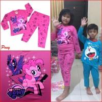 Baju Tidur Piyama Anak Perempuan Little Pony Pink MARUNO 0 - 10Th