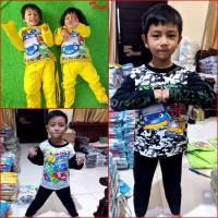 Baju Tidur Anak TAYO Little Bus Piyama Anak MARUNO 0 - 10Th
