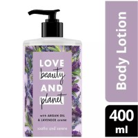 LOVE BEAUTY AND PLANET Body Lotion Argan Oil & Lavender 400Ml