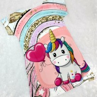 Dress Scuba Anak Motif dan Model terbaru Unicorn f