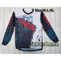 Baju Kaos Jersey ONEAL 002 Mancing Dh Cross Sepeda Gowes