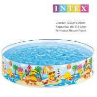 Kolam Anak Intex / Kolam Renang Intex Tanpa Pompa 58474 122 X 25 Cm