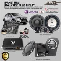 Paket Audio Mobil HRV Daily Use Plug n Play Opsi 3