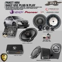 Paket Audio Mobil HRV Daily Use Plug n Play Opsi 4