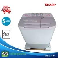 Mesin cuci 2 Tabung sharp 90 MW 9KG Cuci dan Kering