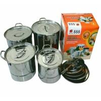 panci Stock Pot 555 Stainless Steel