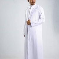 jubah arab, gamis jubah, baju muslim pria, gamis polos