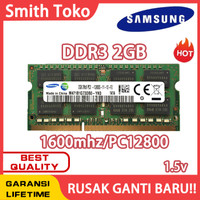 samsung Ram laptop SODIMM DDR3 2GB 1600MHZ/12800&1333MHZ/10600
