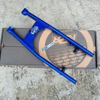 SWING ARM K2R KAWAHARA SONIC 150 BLUE COAK VARIASI OVAL BY KAWAHARA