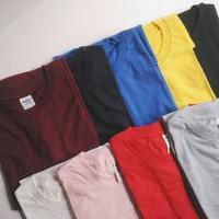 Kaos Polos Gildan Softstyle 63000 Original Murah Jakarta Baju Import - S