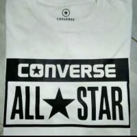 T-shirt Pria Kaos Big Size 3XL 4XL Converse All Star - Terlaris