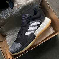 Sepatu Basket Pria ADIDAS Marquee Boost Low Black 100% Original BNIB
