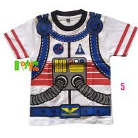 Kaos Profesi Anak Astronout /Astronot tangan pendek Kostum Murah unik