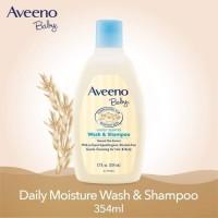 AVEENO BABY WASH & SHAMPOO WITH NATURAL OAT EXTRACT 12OZ / 354ML