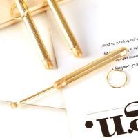 Korek Kuping Logam Mini Dengan Lubang Gantungan Kunci
