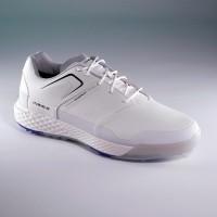 Sepatu golf pria/sepatu golf putih/sepatu golf kedap air putih