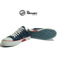 Sepatu Warrior Classic Low / Sepatu Warrior Pendek Black Original