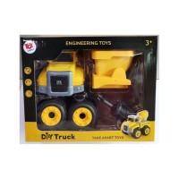 Toy Addict DIY Truck Version 2 Engineering Dump Truck Toys Mainan
