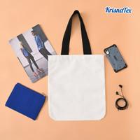 Tote Bag Kanvas Polyester Premium Polos (Canvas Print)