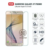 Premium Tempered Glass Protector For Samsung Galaxy J7 Prime