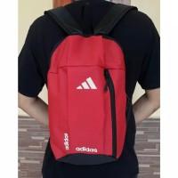 Tas Ransel Adidas Red Black Tas Olahraga Sepatu Futsal Sepatu Bola