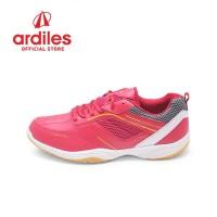 Ardiles Men Alchemist Sepatu Badminton - Merah