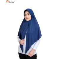 Nisrina Fashion Muslim Bergo Instan Polos Belah Depan Paras M Lestari