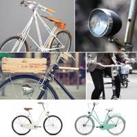 Lampu Sepeda Depan Klasik Led / Onthel / Minion