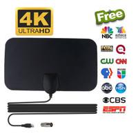 ANTENA TV DIGITAL INDOOR DVB-T2 4K HIGH GAIN 25DB PENANGKAP SINYAL