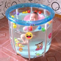 Baby Spa Swimming Pool Baby Flow Cozy Transparant Kolam Renang Bayi