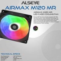 ALSEYE AIRMAX M120-MR Auto RGB Fan Kipas 12cm