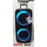 SPEAKER BLUETOOTH ASATRON TYPHOON 2 x 12inch