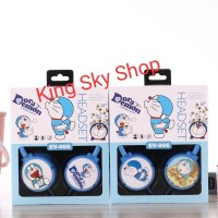 Headset Bando Karakter Motif Doraemon EV006