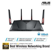 ASUS RT-AC88U AC3100 WiFi Router with AiMesh for Mesh