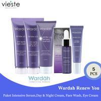 Wardah Renew You Anti Aging Paket 5 pcs