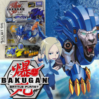 Bakugan Hyodorus Lion Blue Battle Planet 009 09 9 Takara Tomy ORI