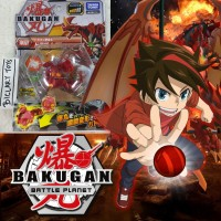 Bakugan Dragonoid Drago Basic Battle Planet RTV Baku 001 01 Takara ORI