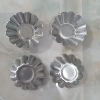 cetakan kue nastar bunga/ kue nastar keranjang/ pie buah Tebal 1LUSIN