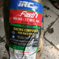 Ban Racing Compound IRC Tire Fasti 1 90/80 Ring 17 46S Tubeless