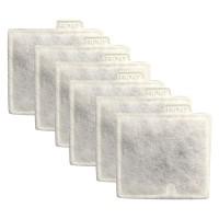 6 Aquarium Medium Charcoal Filter Cartridges,for Replacements Aqueon