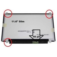 LCD - LED 11.6 Acer Aspire One 722 AOD 725 - baut atas bawah