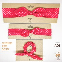 Headband & Scrunchie Couple Ibu & Anak Set [Asesoris Rambut Mom & Me]