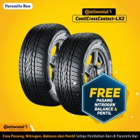 Ban Continental CCLX2 265/65 R17 Ban Mobil Fortuner, Pajero (dom 2017)