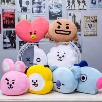 Bantal BTS BT21 kpop UKURAN BESAR XL / Boneka BTS BT21 Murah