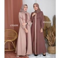 AYUMI Maxy Dress / Gaun Muslimah / Baju Muslim Modern / Dress Muslim