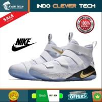 Sepatu Nike Lebron Soldier XI EP White Size 43 - Sepatu Basket