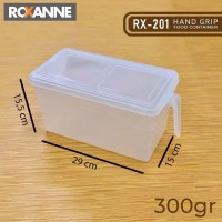Roxanne RX-201 Hand Grip Food Container