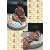 Custom PO Satuan Nama Bantal Duduk / Bantal Bulat Jumbo / Unicorn / A