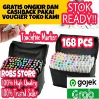 Touchfive 168 Colours Twin Marker Copic Marker Sketsa